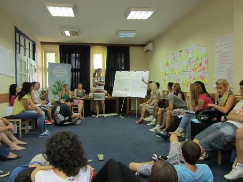 Trening mentora i vršnjačkih edukatora za srednjoškolce